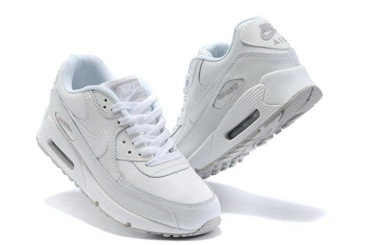 air max blancas chico