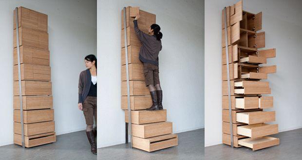 Staircase: La Cassettiera Con Gradini Di Danny Kuo   Design Miss
