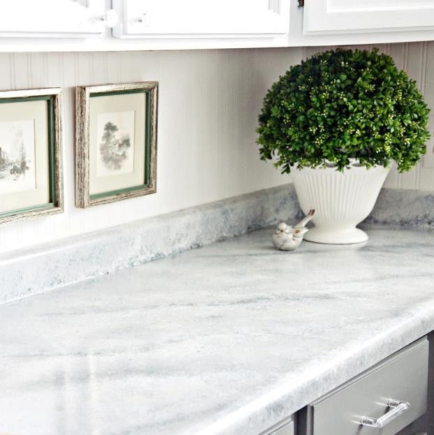 Shh It S Not Marble It S Paint Easy Affordable Diy Countertop Makeover Kit Transform Your Countertop Paint Kit Painting Countertops Countertop Makeover