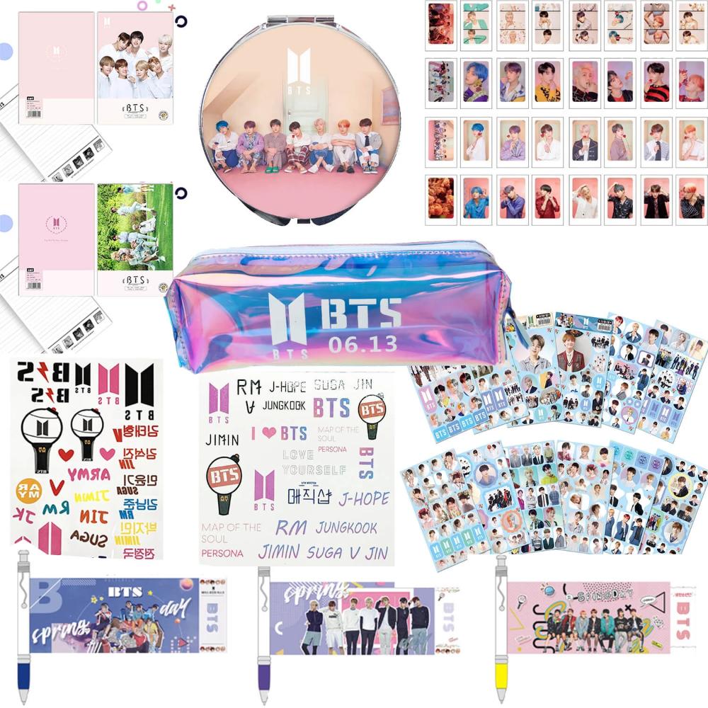 Bts Stationery Set For Army Bts Merchandise Discount Online Shop Kpop Merchandise Online Shop Partypartygo Stationery Set Stationery Bts
