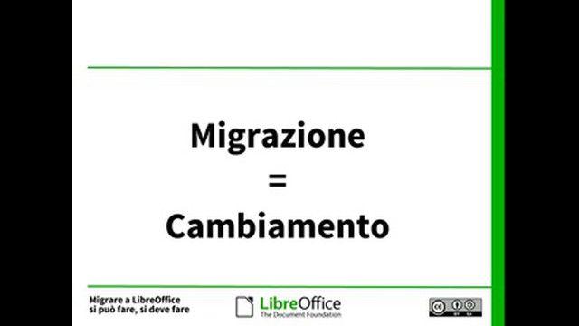Migrare a LibreOffice: si può fare, si deve fare