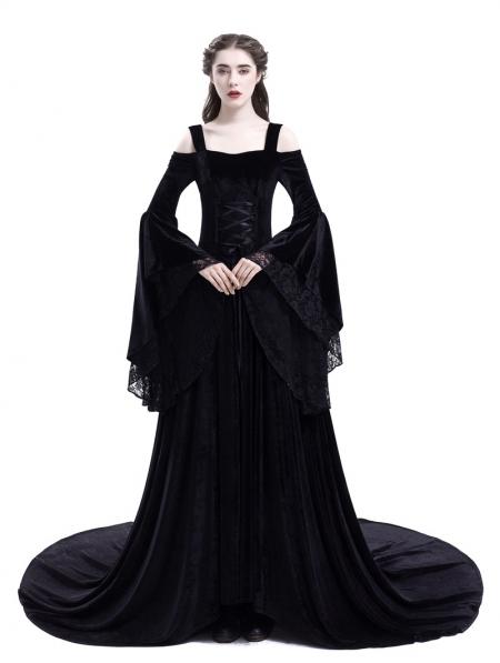 19+ Black medieval dress information