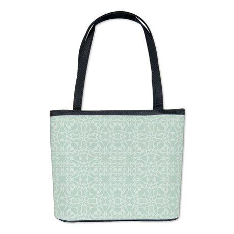 Cute Mint Vintage Bucket Bag #mint #pattern #bag #fashion