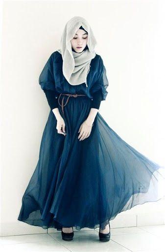 Model Busana Hijab Pesta Modis Terbaru Model Busana Pinterest