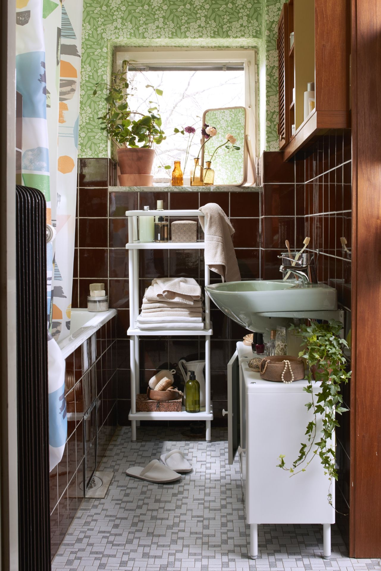 DYNAN Rek met handdoekstang, wit | Paris apartments, Interiors and ...