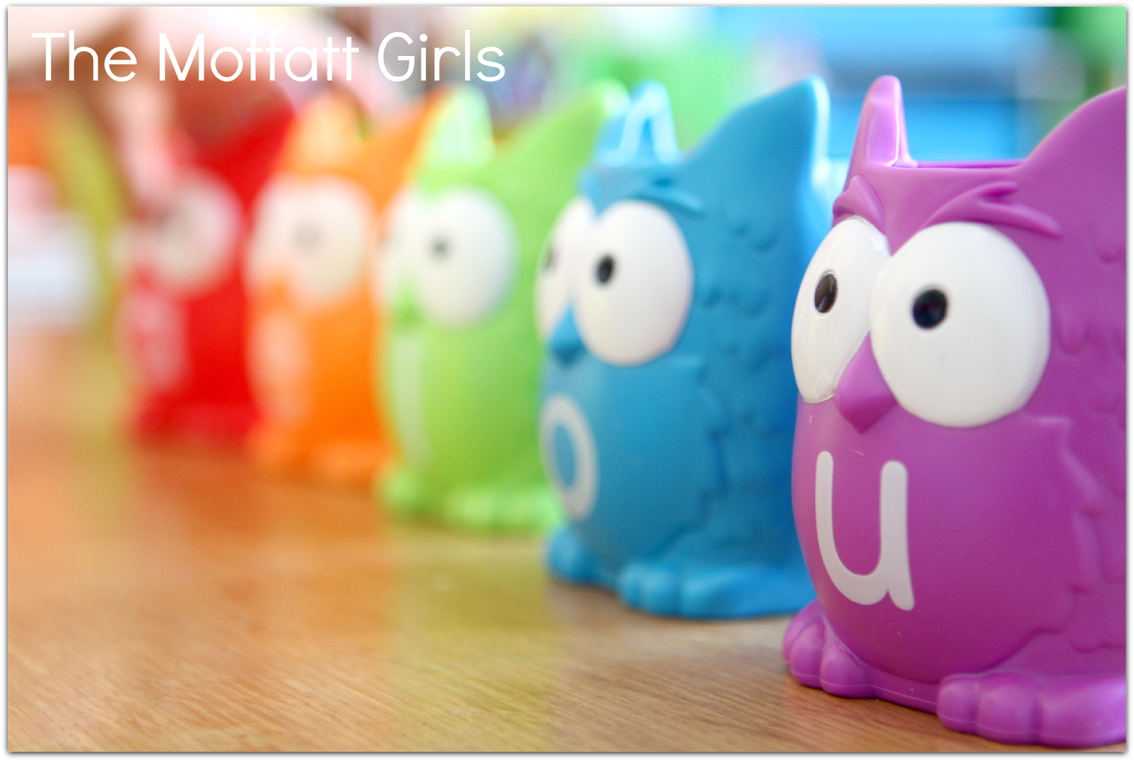 The Moffatt Girls: Vowel Owls GIVEAWAY!