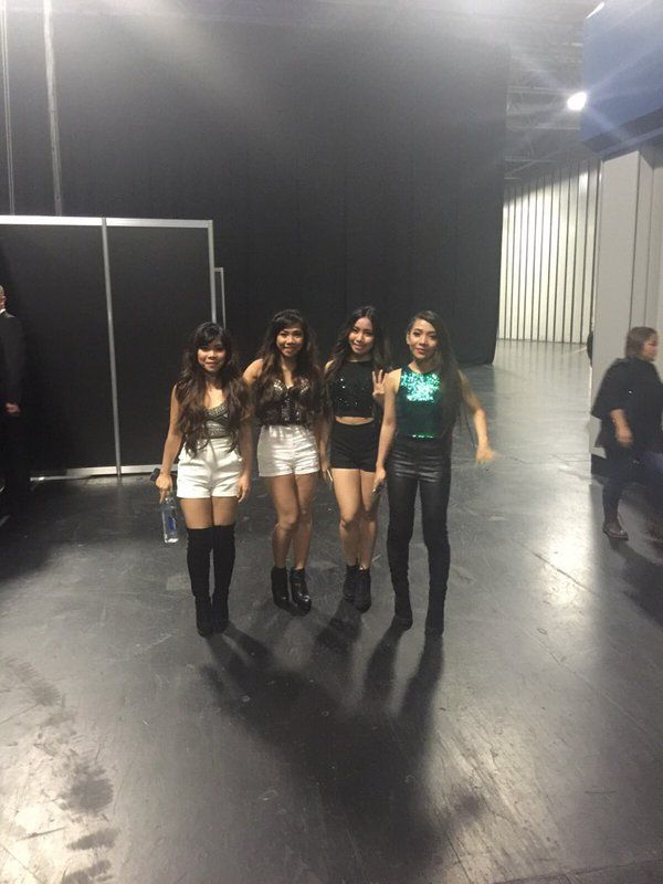 At The Clothes Show (12/07/2015)