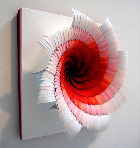 Artists With Innovative Work Who Use Paper As Their Primary Medium - Mesmerising hand crafted paper sculptures jen stark
