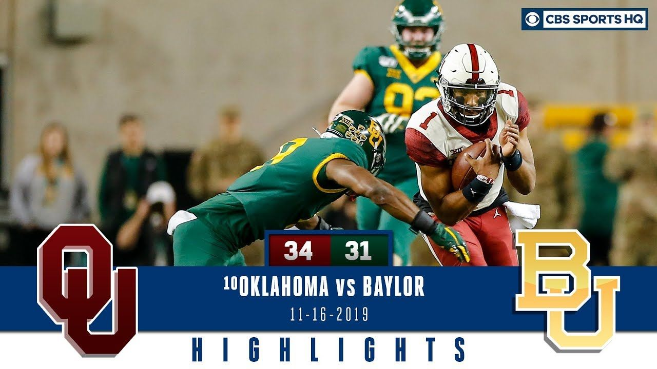 Oklahoma vs Baylor Highlights Sooners pull off largest