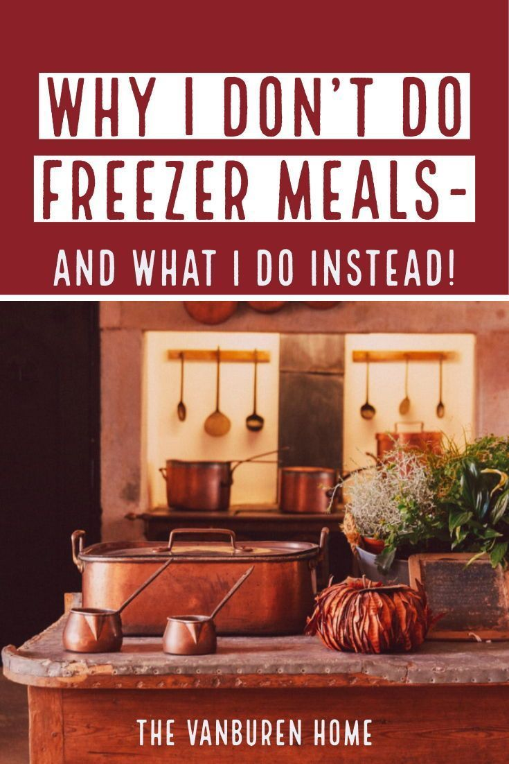 What to do when you don't love freezer meals but still want the convenience of quick and easy options to get the family fed a healthy, homecooked dinner. No need for a crock pot or instant pot, unless that's your jam.