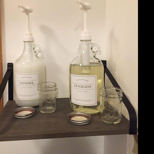 Half Gallon Jug - Laundry Soap Bottles - Detergent