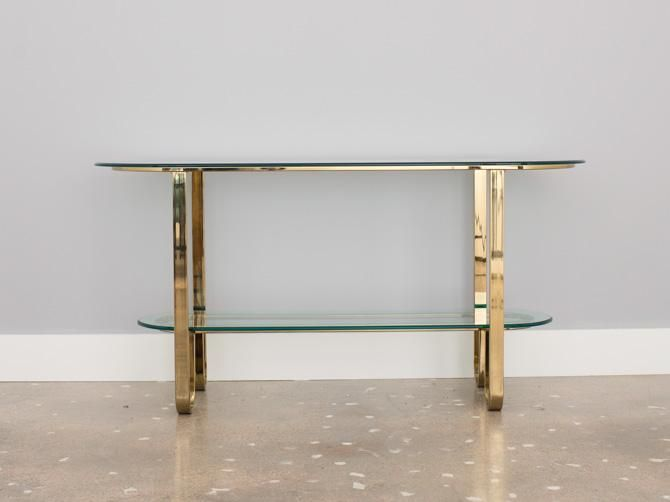 John Widdicomb Black Lacquer And Brass Console Table | Accessories Make A  Room | Pinterest | Console Tables, Consoles And Hall Console Table