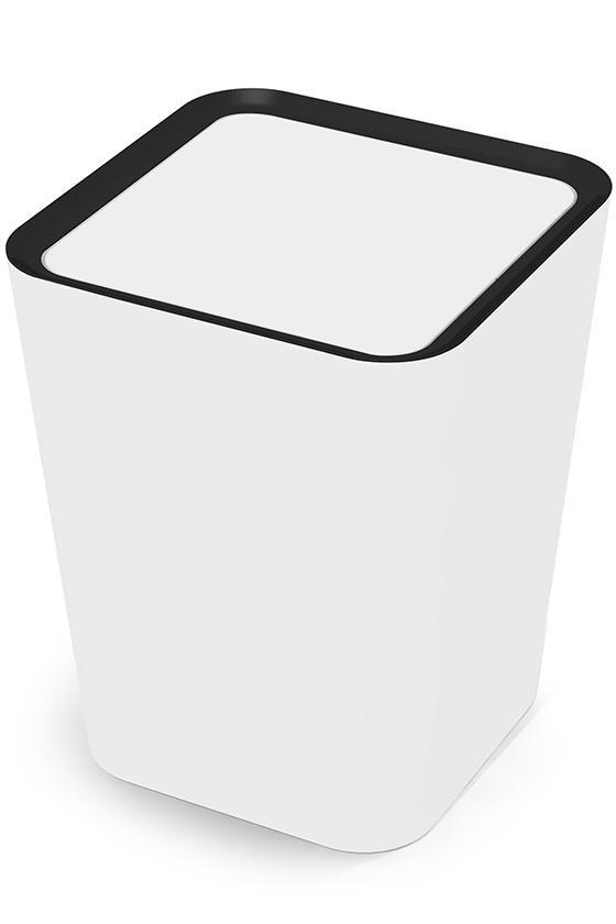Harding Flip Bin Flip Top Trash Can Small Plastic Trash Can Decorative Trash Cans Office Trash Cans R Home Decorators Collection Trash Cans Trash