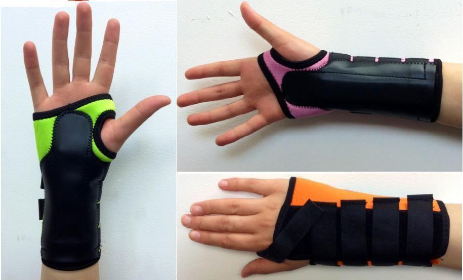 Neoprene Coloured Wrist Brace Support Carpal Tunnel