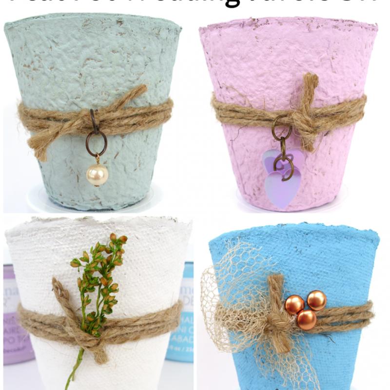 Diy Biodegradable Pots: Diy Wedding, Wedding Favors, Diy