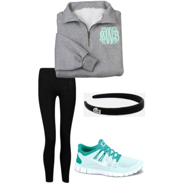 Athletic outfit, created by southernprep1 on Polyvore ...