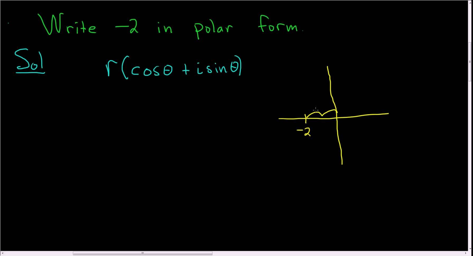 Write 2 In Polar Trigonometric Form With Images