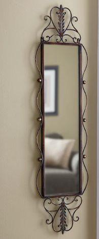 Site Error From Through The Country Door Wrought Iron Mirror Wrought Iron Furniture Mirror Decor