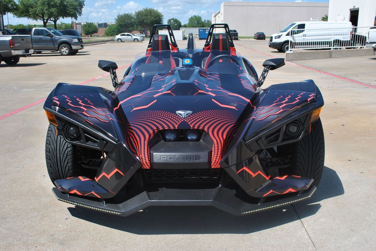 Polaris Slingshot 3d Custom Wrap Design Car Wrap City Polaris
