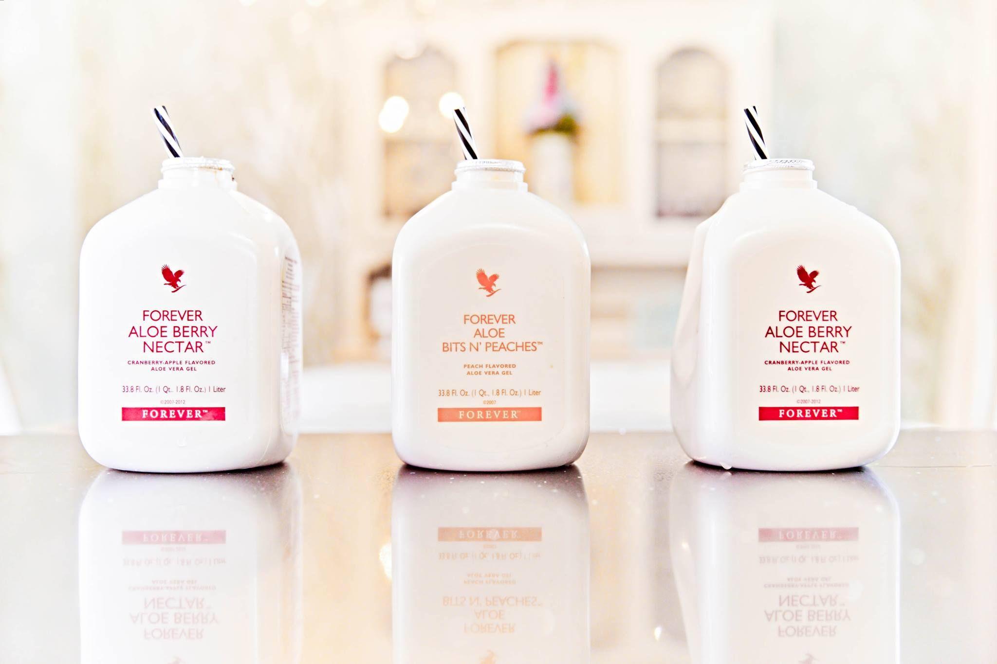 Kennst Du schon die Aloe Vera Trinkgels von FOREVER? Du erhälst die ...