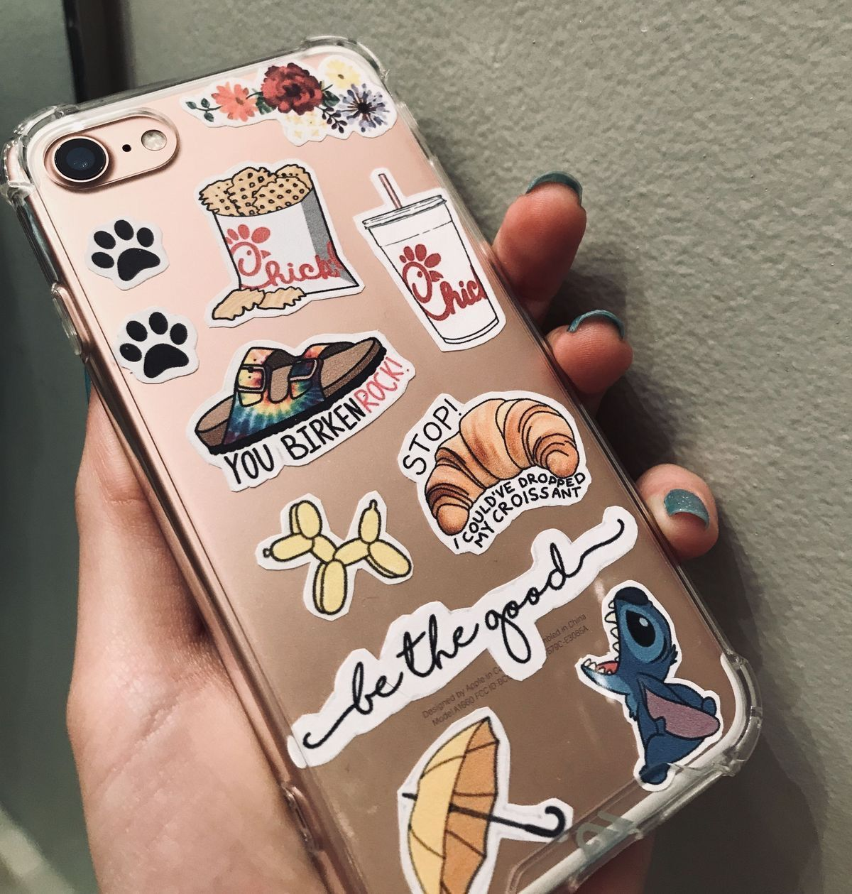 21++ Iphone clear case stickers trends