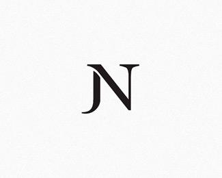 Jn Built By Stuartlcrawford N Logo Design Cool Lettering Letter Logo Design