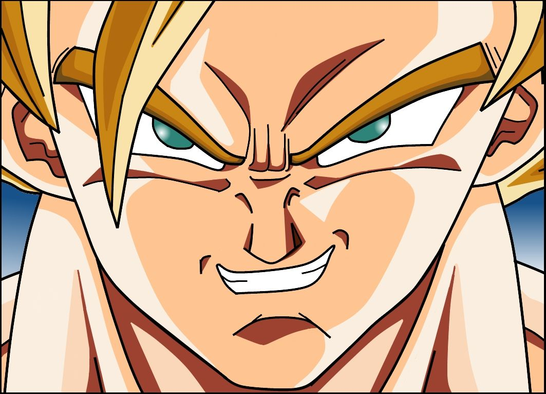 Mis dibujos de Goku  Goku Dragon ball and Manga