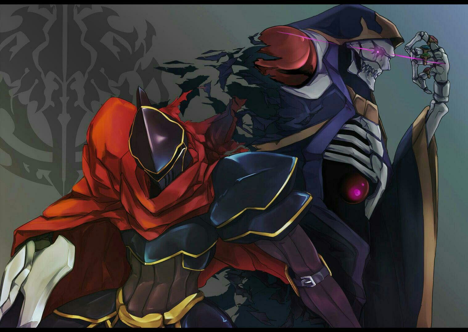 Lord Ainz With Images Anime Wallpaper Popular Anime Anime