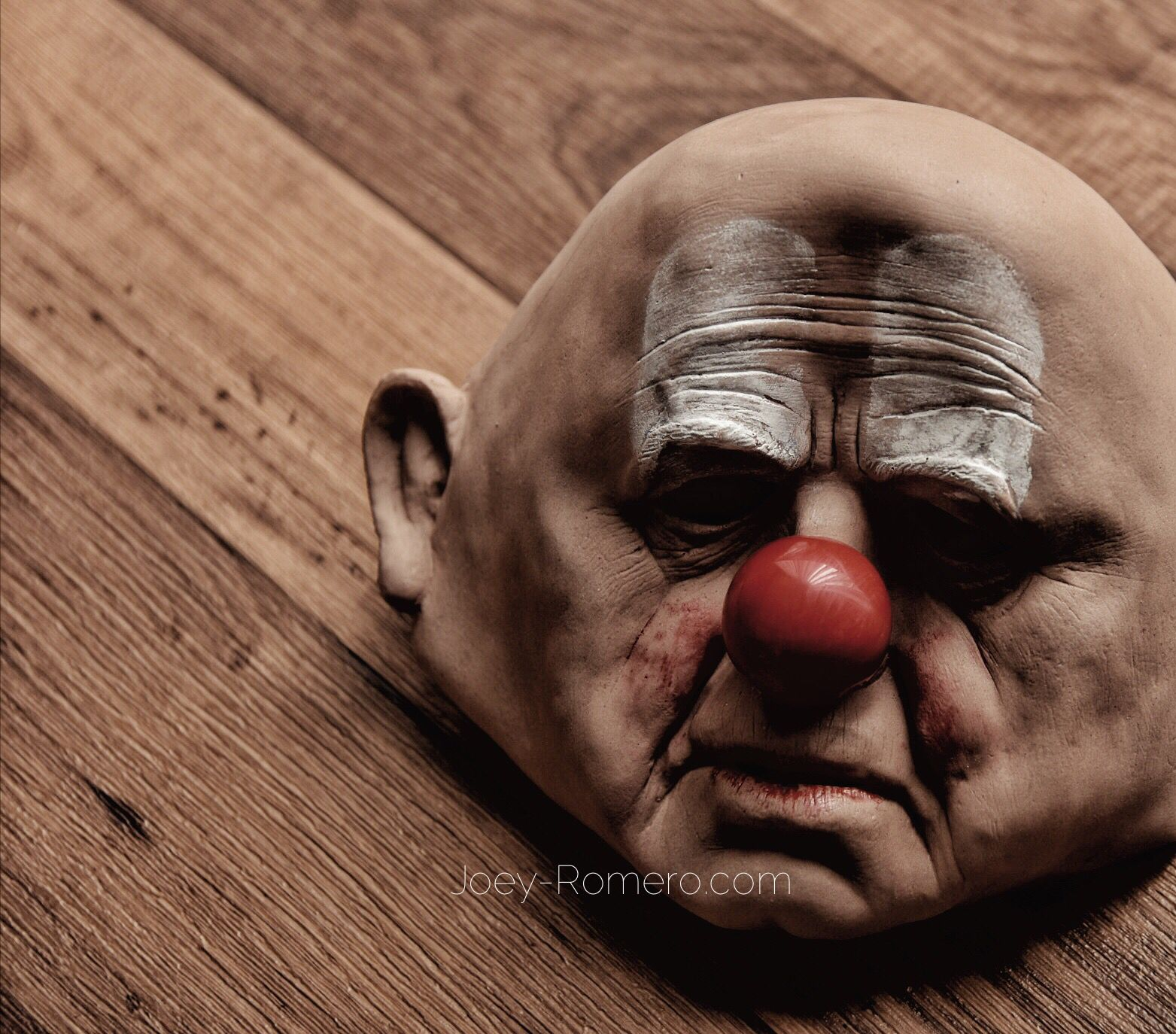 Clown Mask Vintage Halloween Mask | Joey Romero Photography ...