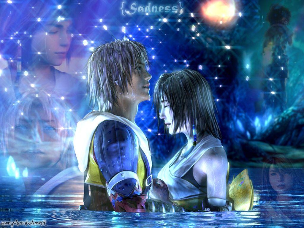 Wallpaper Yuna and Tidus Final Fantasy X [HD by