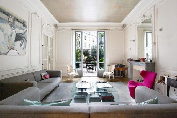 French Interior Design Living Room Designs Pinterest French