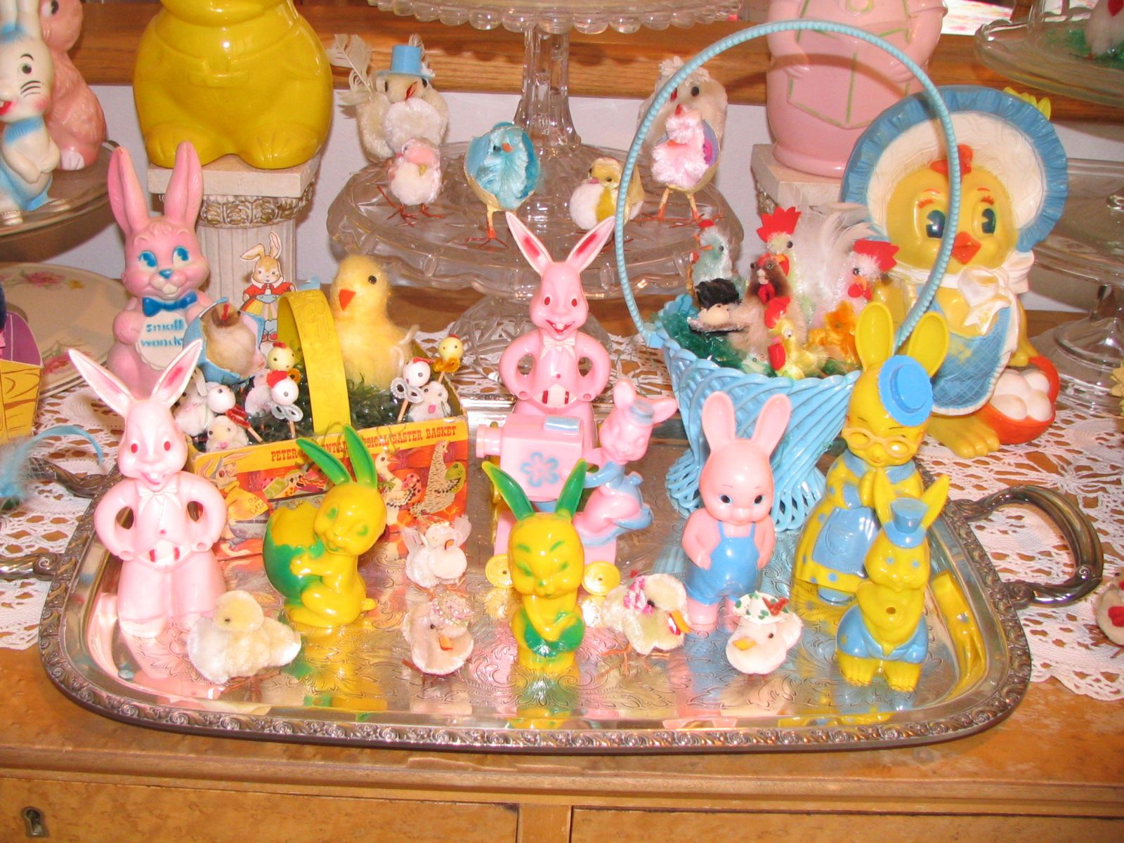 easter decorations vintage easter pinterest