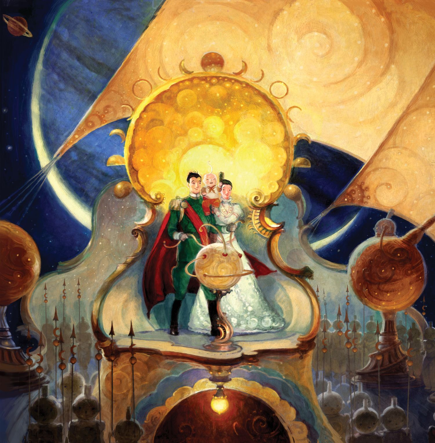 The Man In The Moon (the Guardians Of Childhood) By William Joyce