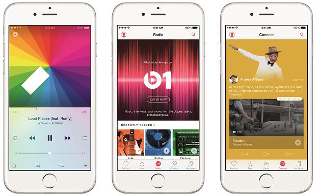 Apple Music streaming service to compete against Spotify