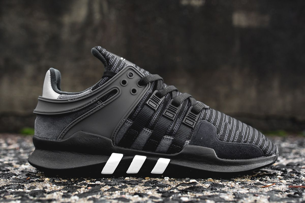 Adidas Eqt Support Adv Big Kids BB0238 Black Athletic Shoes