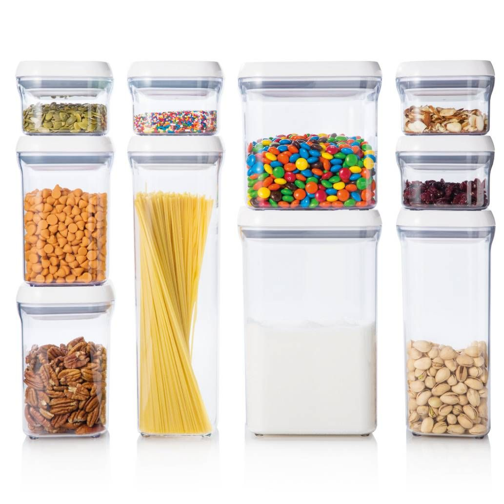OXO Good Grips® 10 Piece Food Storage POP Container Set