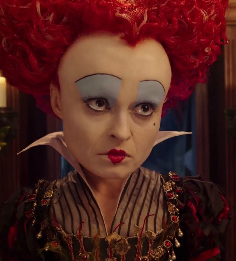 Alice Through The Looking Glass The Red Queen Com Imagens