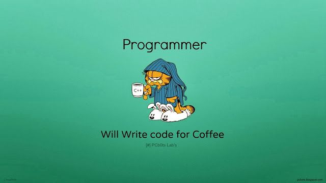 Programmers And Coders Wallpapers Hd By Pcbots Pcbots Blog Coding Programmer Garfield Quotes
