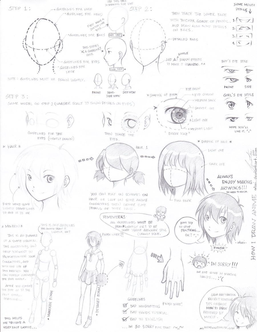 Pin By Alivette Fabelo On Drawing And Painting Anime Drawings Drawings Cartoon Drawing Tutorial