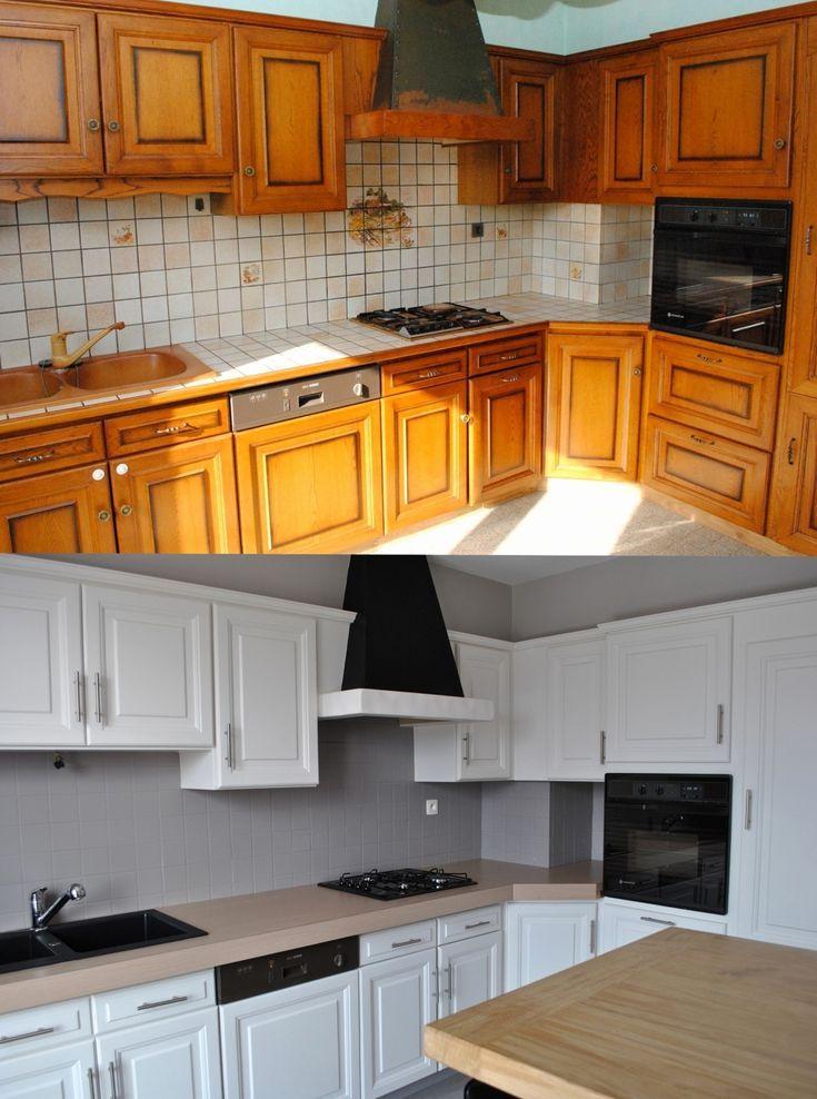 renovation cuisine rustique chene best of renovation meubles de pour r novation cuisine rustique. Black Bedroom Furniture Sets. Home Design Ideas