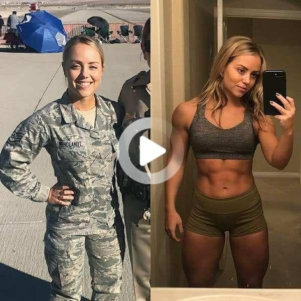 They look good no matter what the occasion. Who doesn't love a woman in (or out of) uniform? #fitnes...