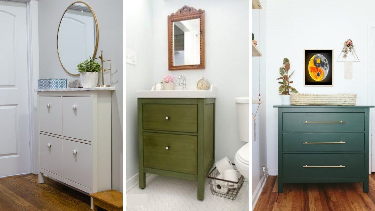 Ikea Bathroom Vanity Hack Trendecors