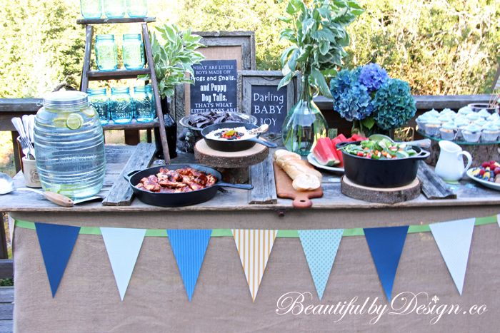 Baby Shower Disguised As A Bbq From Beautifulbydesign Baby Q