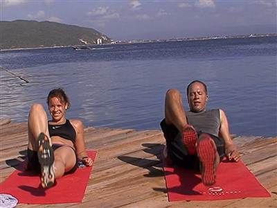 'Jamaican' me tired! Lester tries Jenna's island workout - TODAY Health
