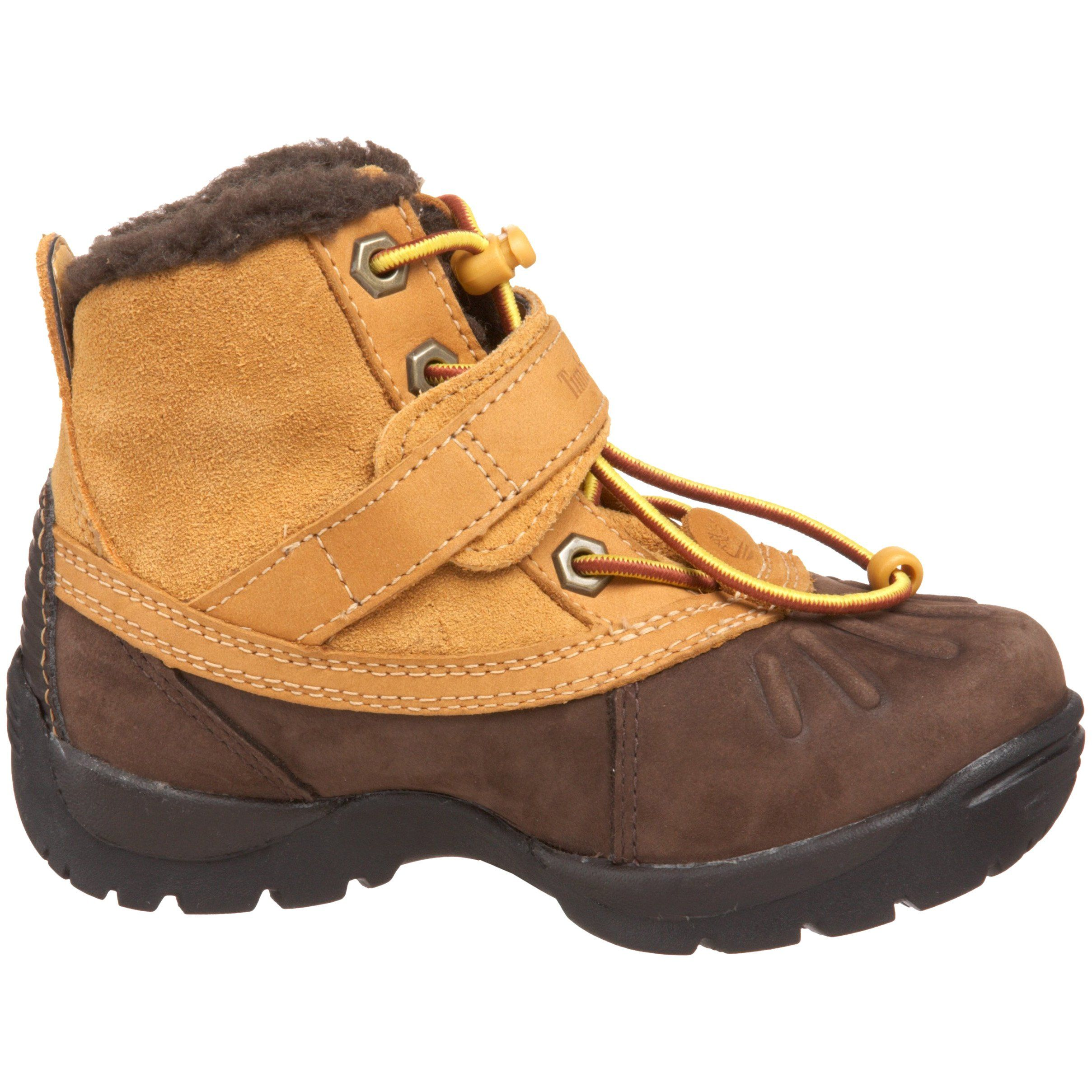 Timberland Kids Mallard Waterproof High-Top Buckle Boot Toddler//Little Kid//Big Kid