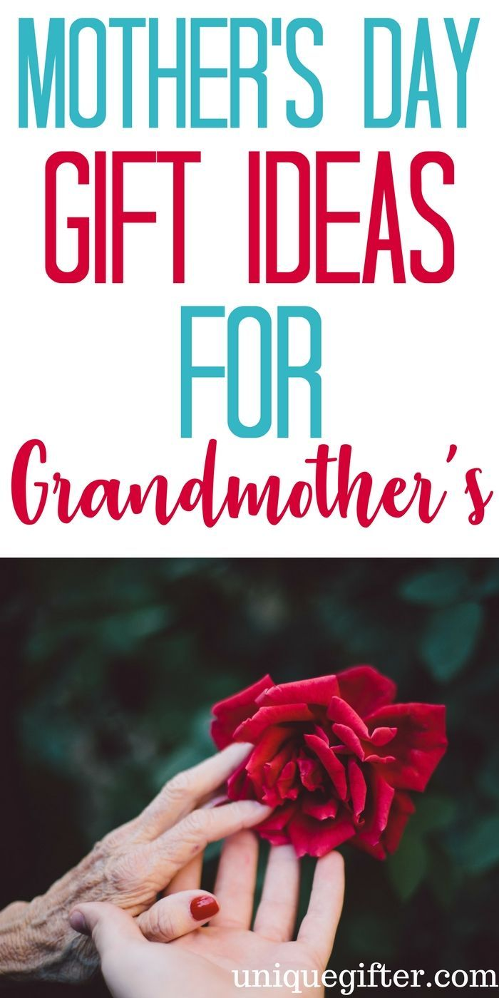 20 mothers day gifts for grandmothers gift craft and easter negle Image collections