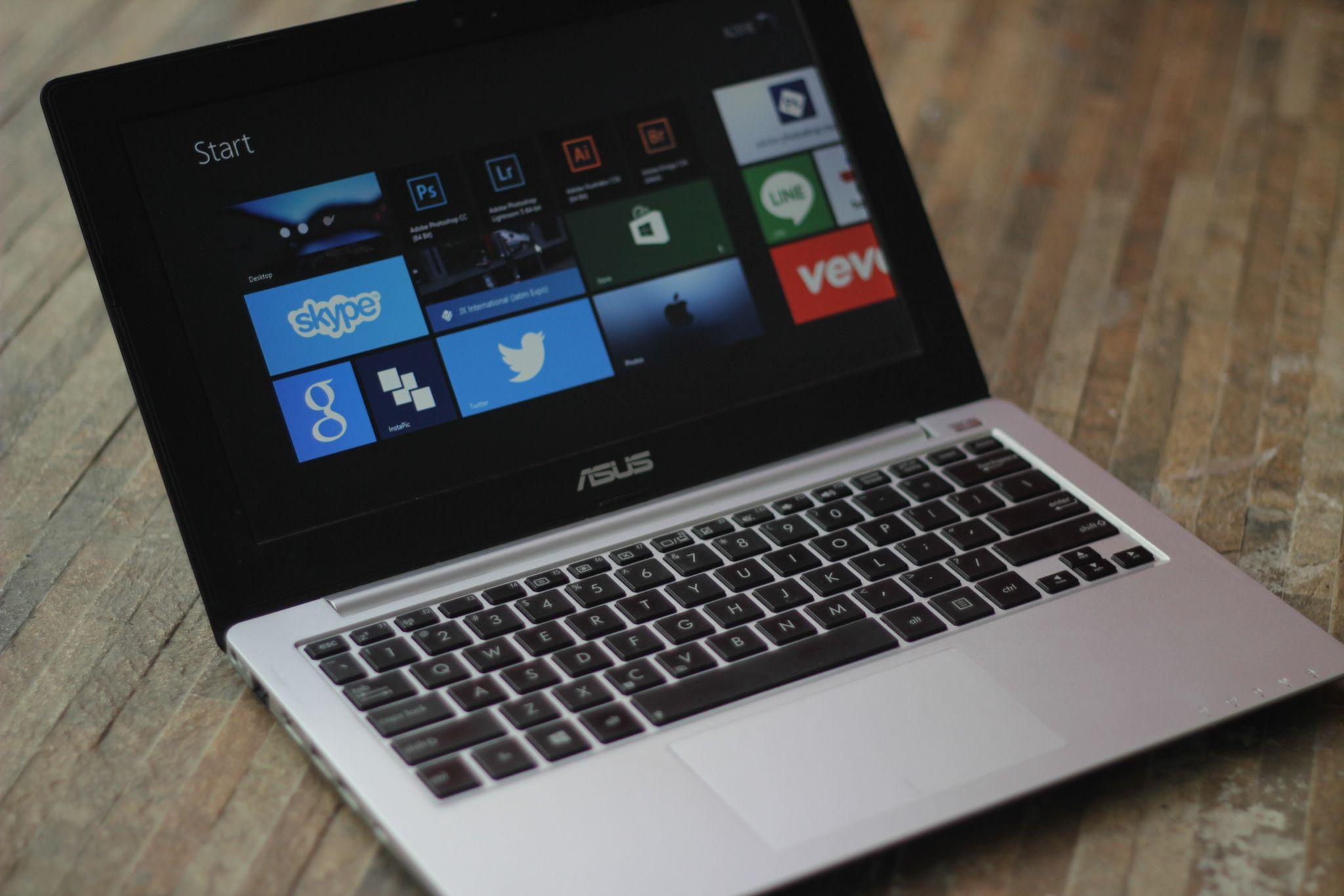 Berbagai Aplikasi Multimedia Ter Install Dalam ASUS X201E ASUS