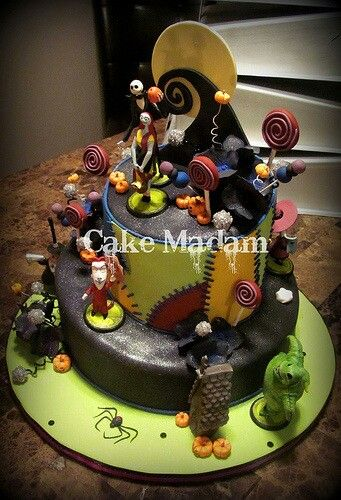 Nightmare before Christmas awesome cakes Pinterest Nightmare