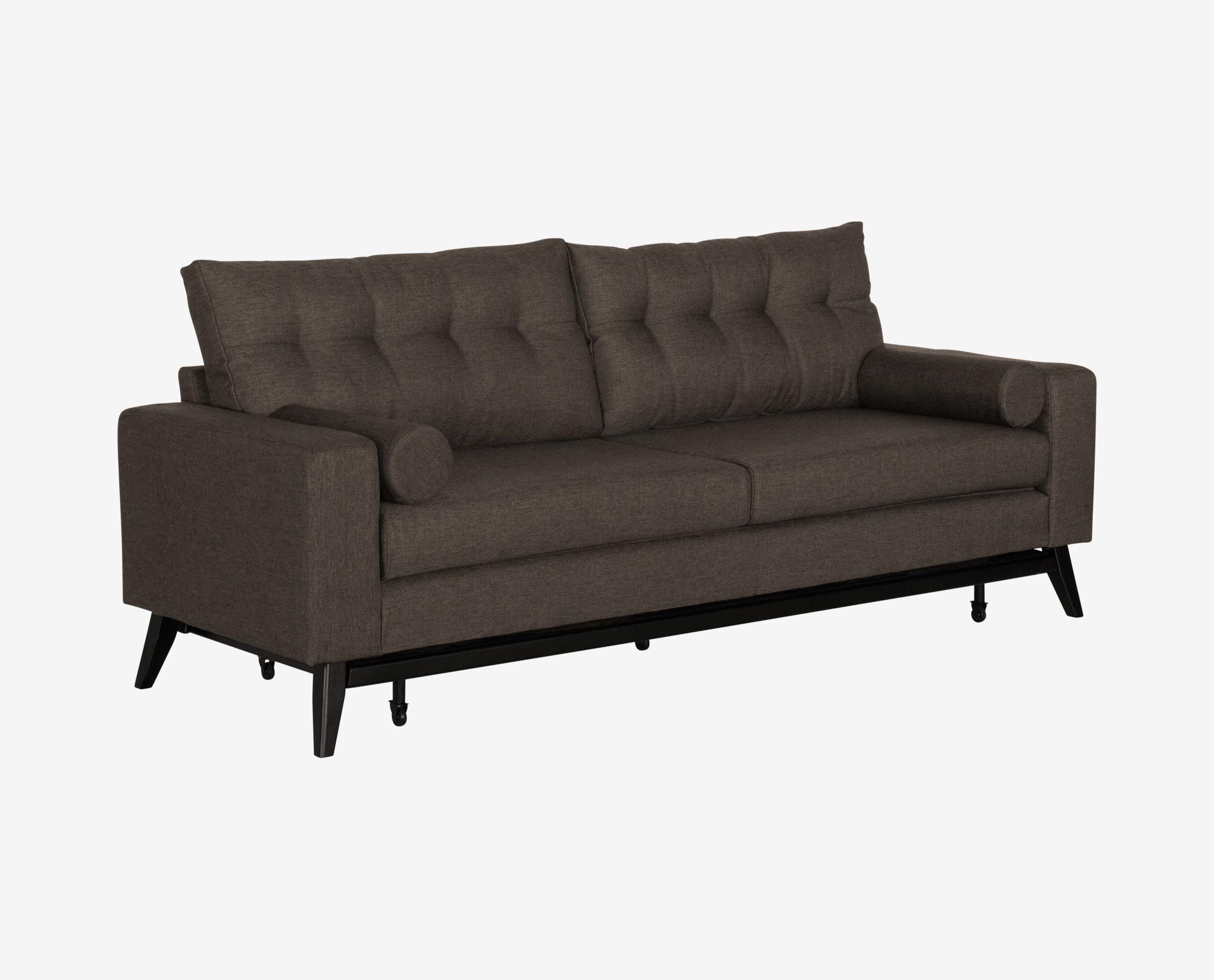 dania the kenora sofa sleeper offers clean lines angled feet and rh pinterest com Dania Sofa Review Dania Leather Sofa