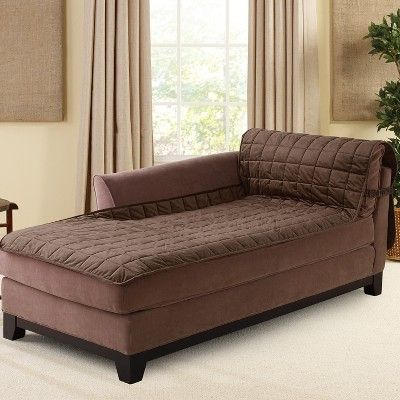 Cool Furniture Friend Deluxe Comfort Quilted Armless Chaise Download Free Architecture Designs Embacsunscenecom